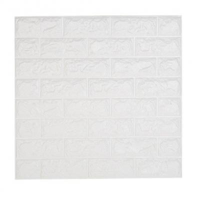NHsunray 3D Ladrillo Pegatina Pared Autoadhesivo Panel Pared Impermeable