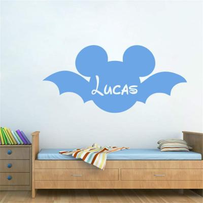 Pegatina De Pared Frases Mickey Minnie Mouse